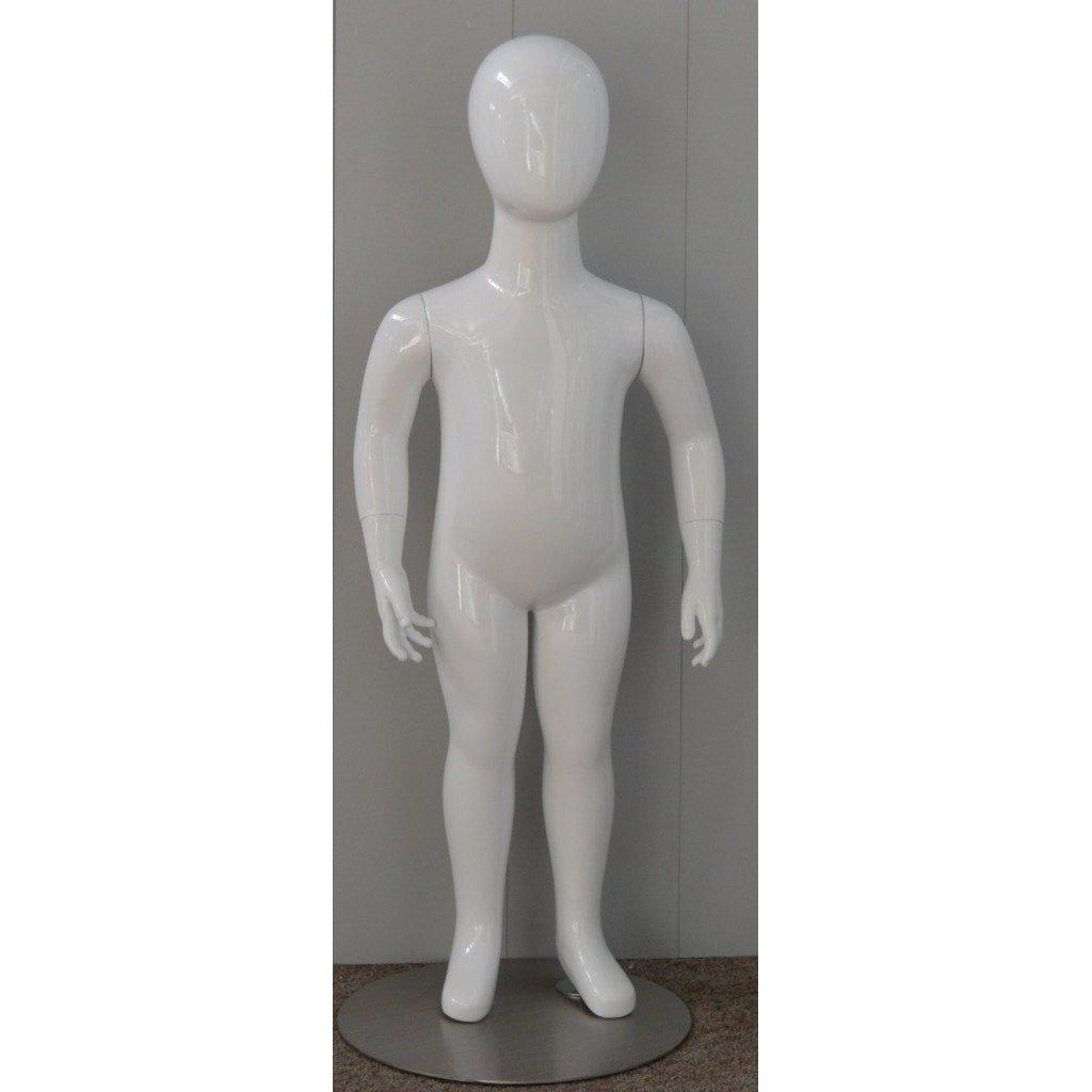 Mannequin Mall 2 Year Old Child Abstract Mannequin MM-CW2YEG For Fashion Stores and Retail Shops
