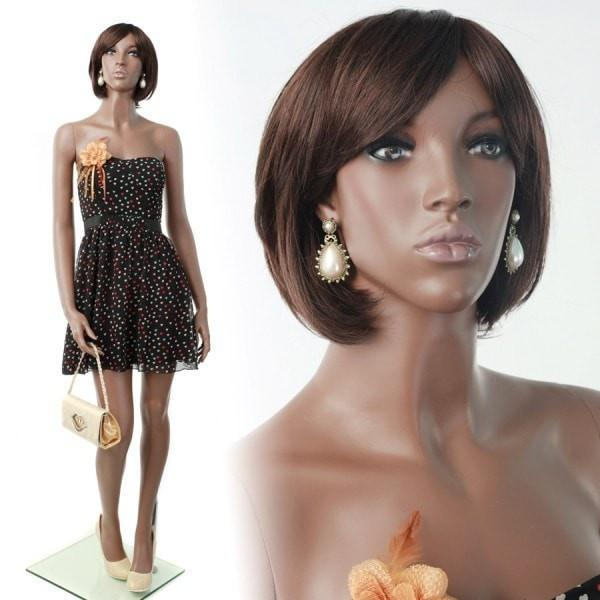"Mannequin Mall 5'10"" African American Mannequin MM-MYA3 For Fashion Stores and Retail Shops"