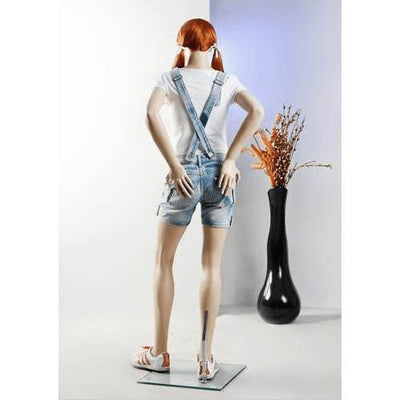"Mannequin Mall 5'3"" Teenage Girl Mannequin MM-BC07 For Fashion Stores and Retail Shops"
