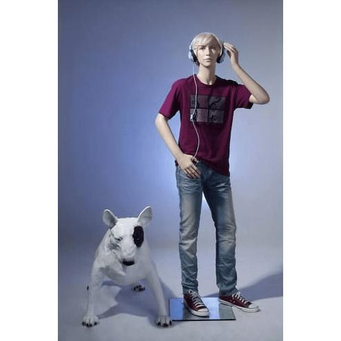 "Mannequin Mall 5'5"" Teenage Boy Mannequin MM-BC11 For Fashion Stores and Retail Shops"