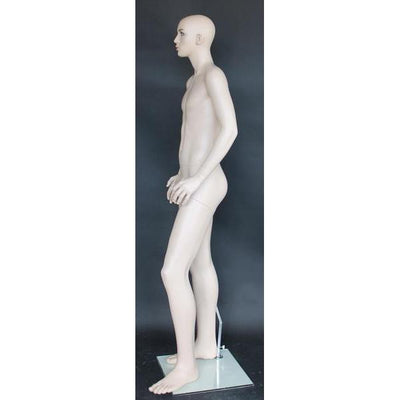 "Mannequin Mall 5'7"" Teenage Male Mannequin MM-CB19-FT For Fashion Stores and Retail Shops"