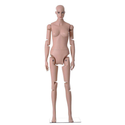"Mannequin Mall 5' 9"" Realistic Posable Female Mannequin MM-Z25 For Fashion Stores and Retail Shops"
