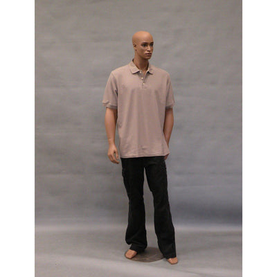 "Mannequin Mall 6'1"" African American Male Mannequin MM-CCF2 For Fashion Stores and Retail Shops"