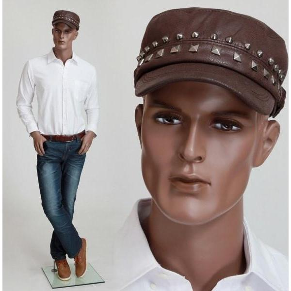 "Mannequin Mall 6'3"" African American Male Mannequin MM-ZEKE2 For Fashion Stores and Retail Shops"