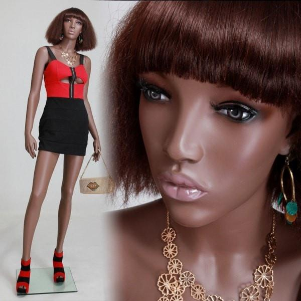 Mannequin Mall 6' African American Mannequin MM-MYA1 For Fashion Stores and Retail Shops