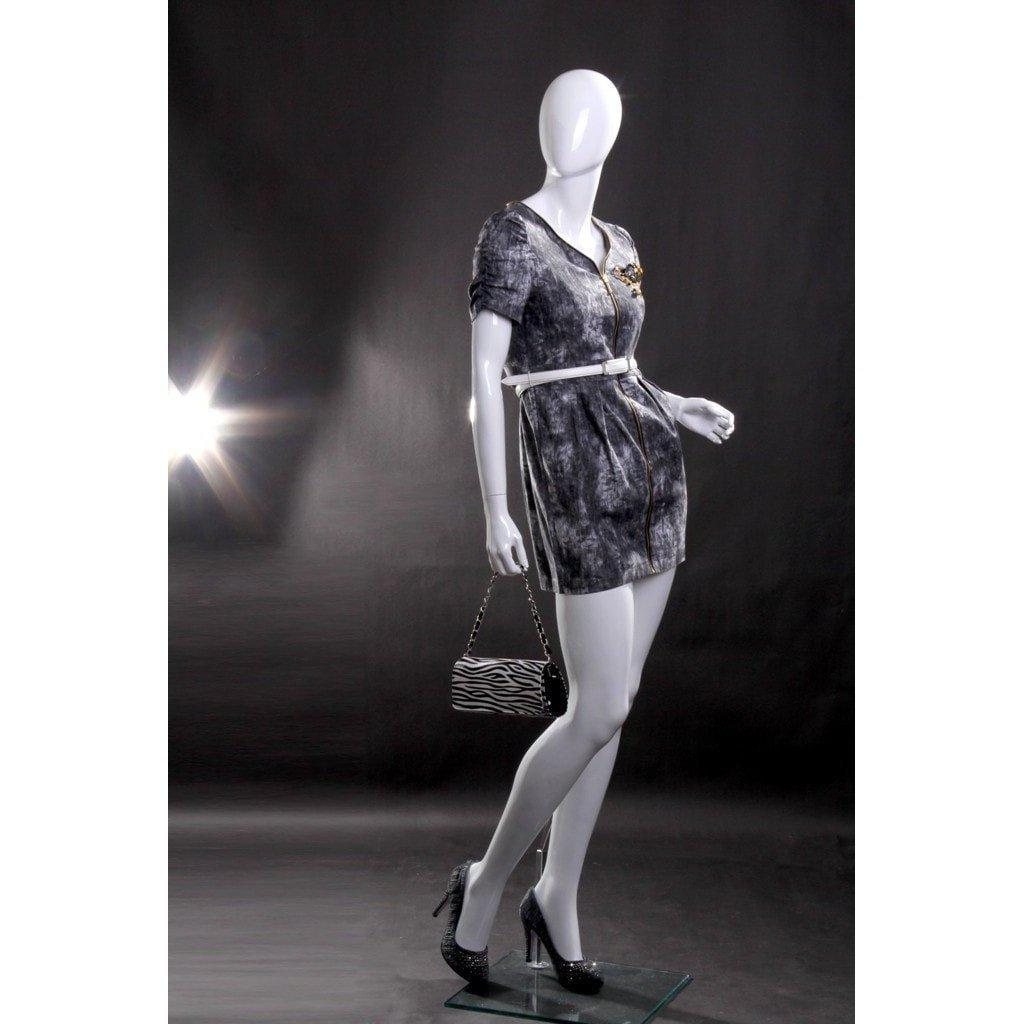 Mannequin Mall Abstract Female Mannequin MM-RLISA4EG For Fashion Stores and Retail Shops