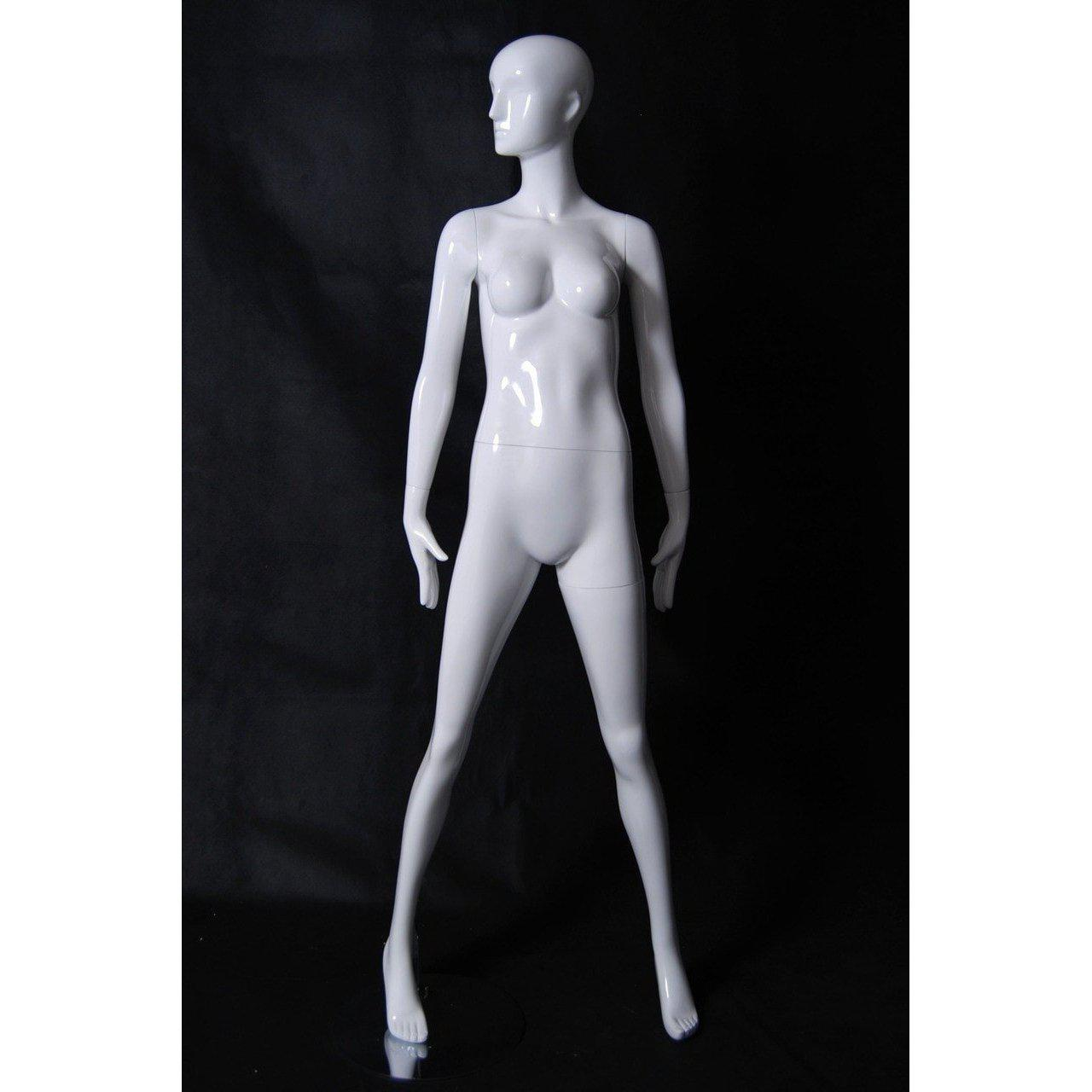Mannequin Mall Abstract Female Mannequin MM-RXD02W For Fashion Stores and Retail Shops