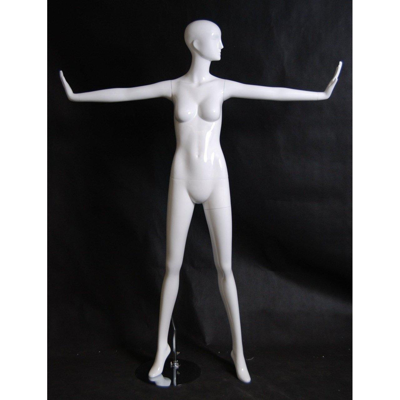 Mannequin Mall Abstract Female Mannequin MM-RXD12W For Fashion Stores and Retail Shops