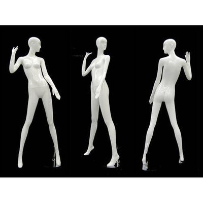 Mannequin Mall Abstract Female Mannequin MM-RXD17W For Fashion Stores and Retail Shops