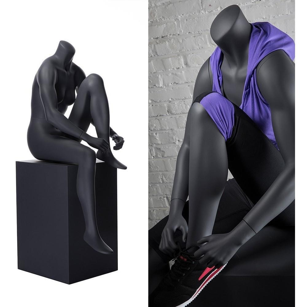 Mannequin Mall Athletic Female Sitting Mannequin MM-NI17 For Fashion Stores and Retail Shops