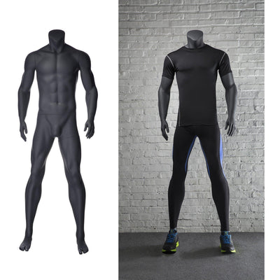 Mannequin Mall Athletic Headless Male Mannequin MM-NI2 For Fashion Stores and Retail Shops
