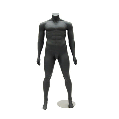 Mannequin Mall Athletic Headless Plus Size Male Mannequin MM-PLUSMANBB For Fashion Stores and Retail Shops