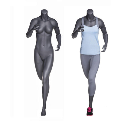 Mannequin Mall Athletic Running Headless Sports Female Mannequin MM-NI11 For Fashion Stores and Retail Shops