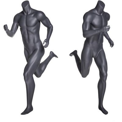 Mannequin Mall Athletic Running Headless Sports Male Mannequin MM-NI4 For Fashion Stores and Retail Shops