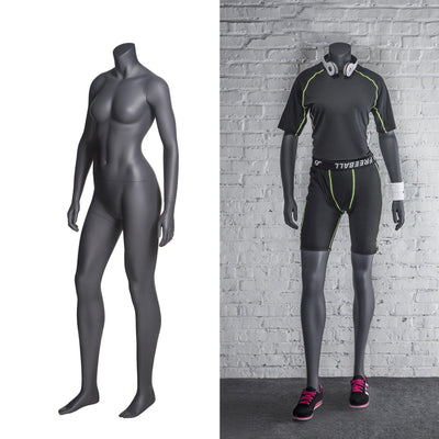 Mannequin Mall Athletic Sports Headless Female Mannequin MM-NI10 For Fashion Stores and Retail Shops