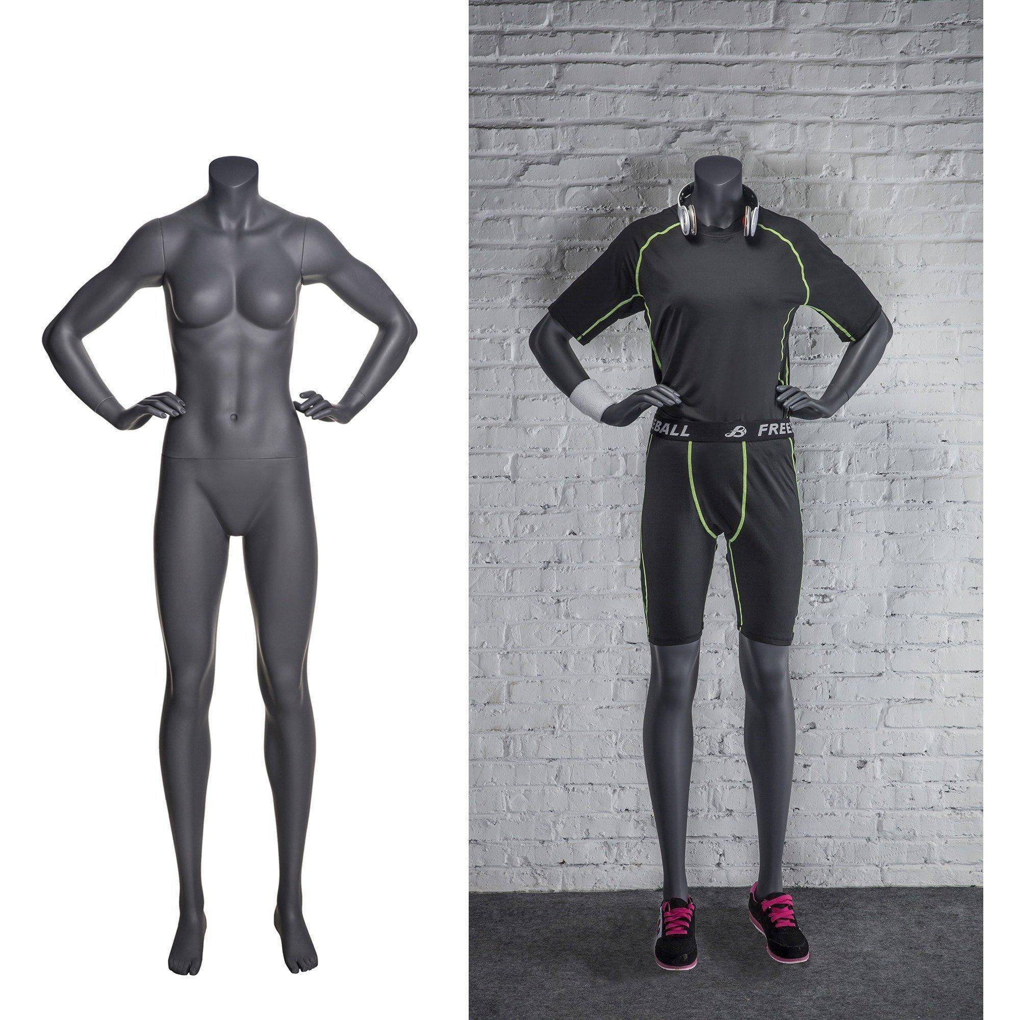 Mannequin Mall Athletic Sports Headless Female Mannequin MM-NI9 For Fashion Stores and Retail Shops
