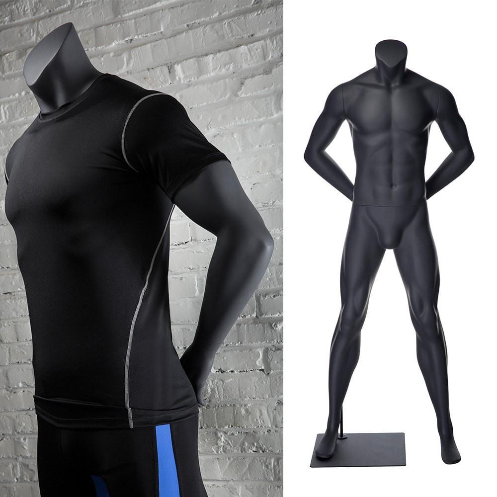 Athletic Sports Headless Male Mannequin MM-NI1