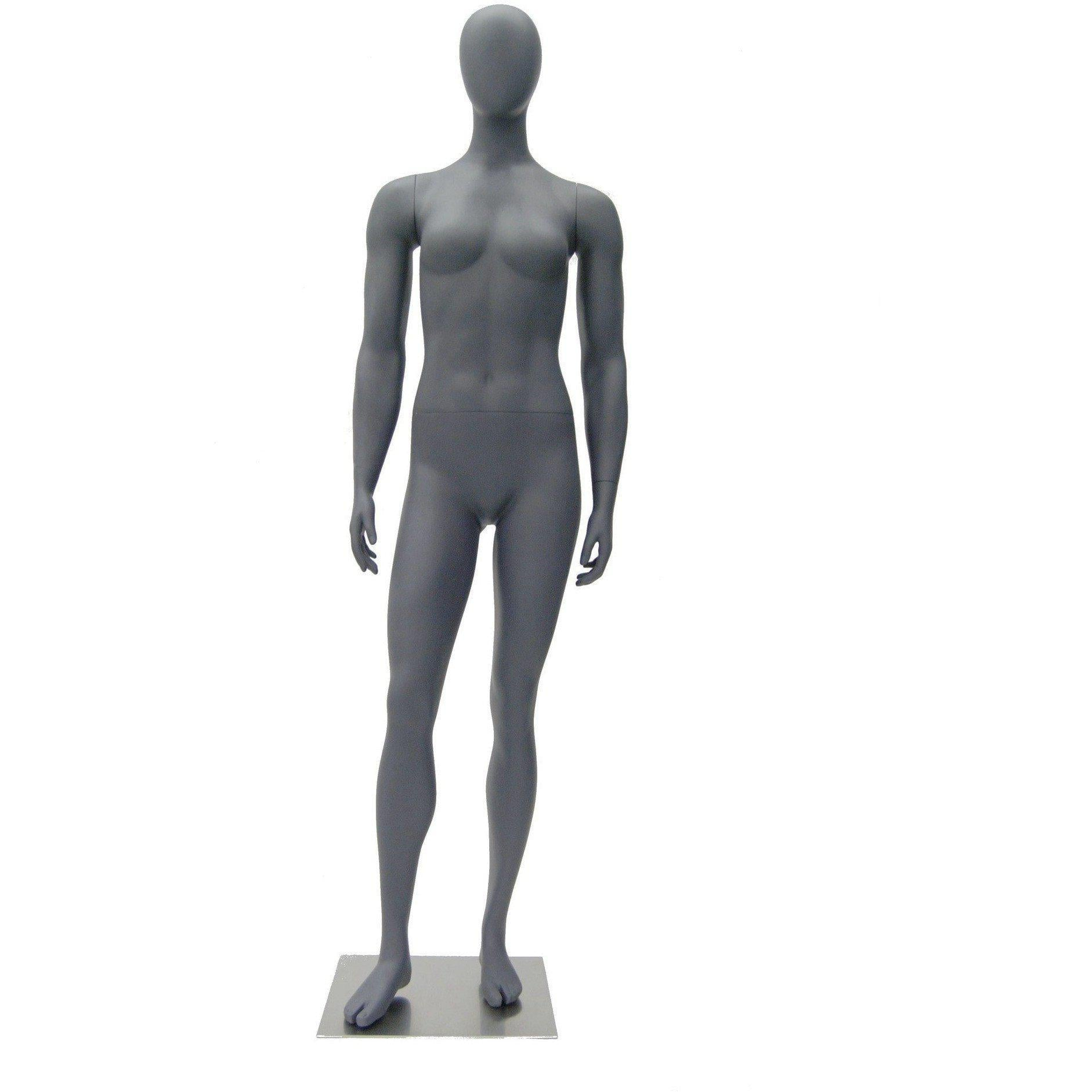 Mannequin Mall Female Abstract Athletic Mannequin MM-HEF02EG For Fashion Stores and Retail Shops