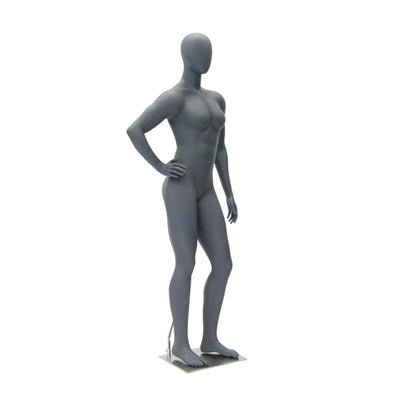 Mannequin Mall Female Abstract Athletic Mannequin MM-HEF17EG For Fashion Stores and Retail Shops