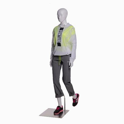 Mannequin Mall Female Abstract Hiking Mannequin MM-ZL-F01 For Fashion Stores and Retail Shops