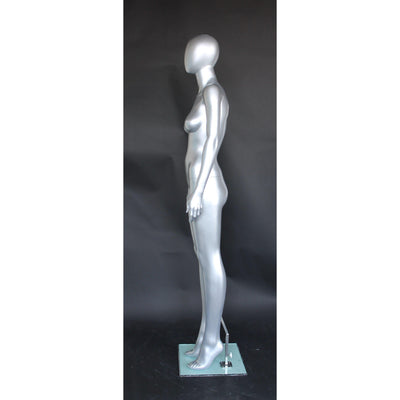 Mannequin Mall Female Egghead Mannequin MM-SFW45E-ST For Fashion Stores and Retail Shops