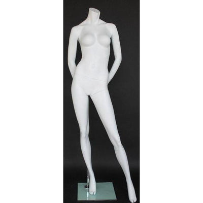 Mannequin Mall Female Headless Mannequin MM-STW106W-WT For Fashion Stores and Retail Shops