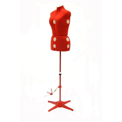 Mannequin Mall Female Large Adjustable Dress Form MM-JFFH8 For Fashion Stores and Retail Shops