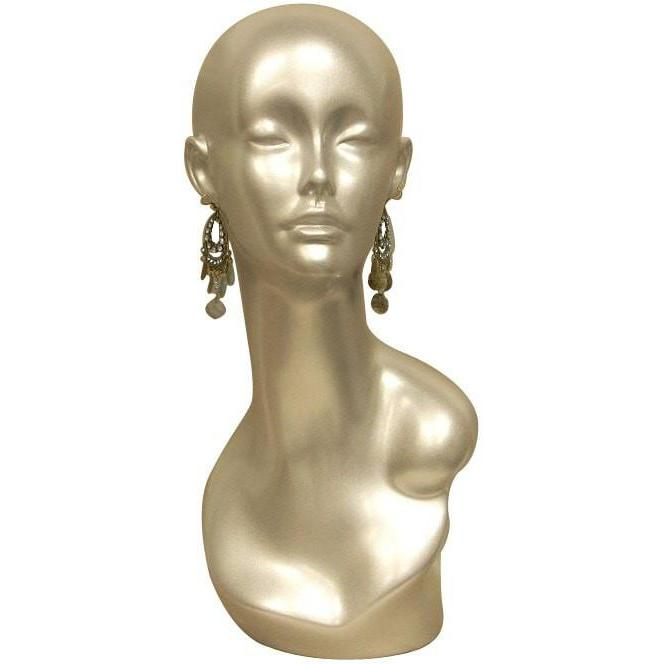 Mannequin Mall Female Mannequin Head MM-MDTINAS For Fashion Stores and Retail Shops