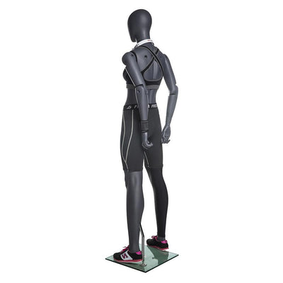 Mannequin Mall Female Posable Athletic Mannequin MM-NI-FFXG For Fashion Stores and Retail Shops