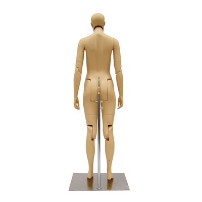 Mannequin Mall Female Realistic Posable Mannequin with Back Support MM-FM02-S For Fashion Stores and Retail Shops
