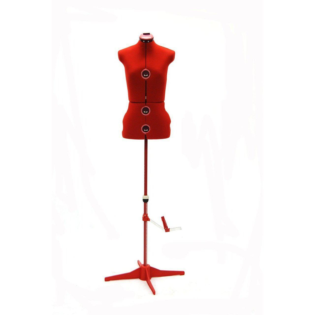 Mannequin Mall Female Small Adjustable Dress Form MM-JFFH2 For Fashion Stores and Retail Shops