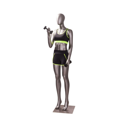Mannequin Mall Female Sports Weightlifting Mannequin MM-JSW02 For Fashion Stores and Retail Shops
