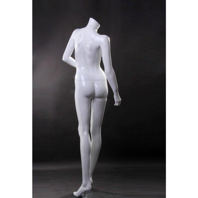 Mannequin Mall Headless Female Mannequin MM-RLISA10BW For Fashion Stores and Retail Shops