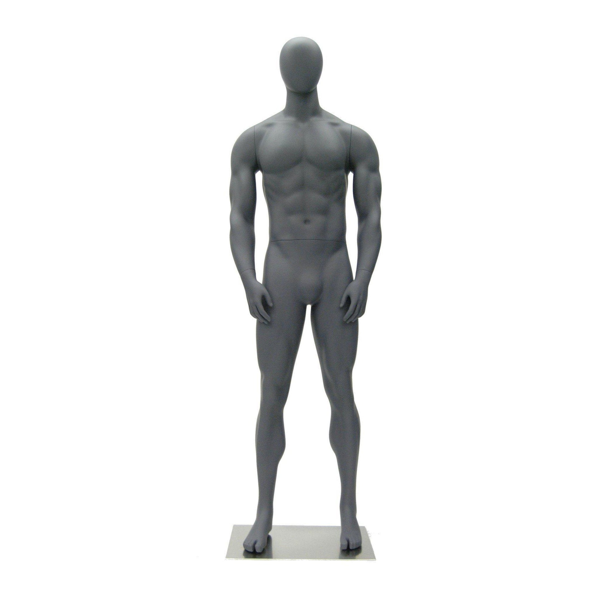 Mannequin Mall Male Abstract Athletic Mannequin MM-HEF00EG For Fashion Stores and Retail Shops