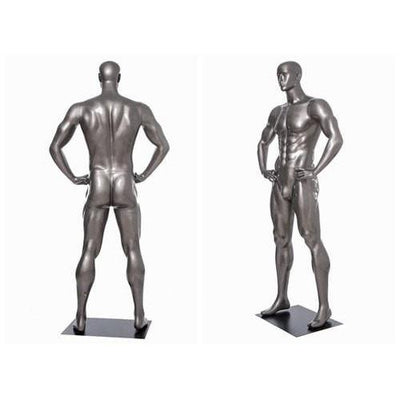 Mannequin Mall Male Abstract Athletic Sports Mannequin MM-BRADY01 For Fashion Stores and Retail Shops