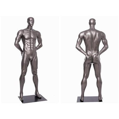 Mannequin Mall Male Abstract Athletic Sports Mannequin MM-BRADY05 For Fashion Stores and Retail Shops