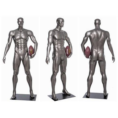 Mannequin Mall Male Abstract Athletic Sports Mannequin MM-BRADY06 For Fashion Stores and Retail Shops