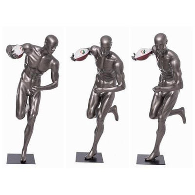 Mannequin Mall Male Abstract Athletic Sports Mannequin MM-BRADY11 For Fashion Stores and Retail Shops