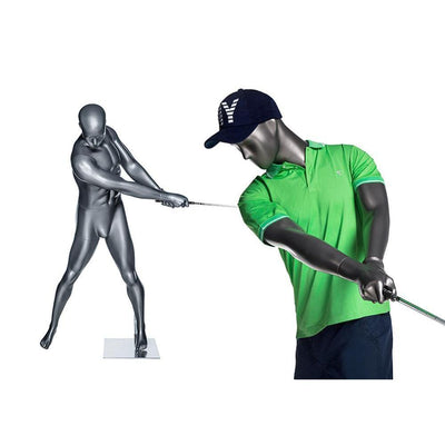 Mannequin Mall Male Abstract Golf Mannequin MM-GOLF03 For Fashion Stores and Retail Shops