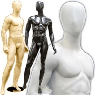 Mannequin Mall Male Abstract Mannequin MM-169 For Fashion Stores and Retail Shops