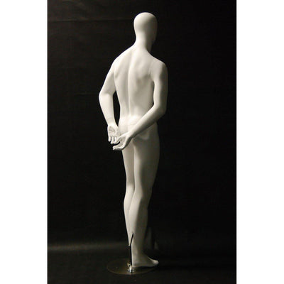 Mannequin Mall Male Abstract Mannequin MM-RC29W2 For Fashion Stores and Retail Shops