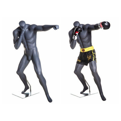 Mannequin Mall Male Athletic Boxing Mannequin MM-BOXING-2 For Fashion Stores and Retail Shops