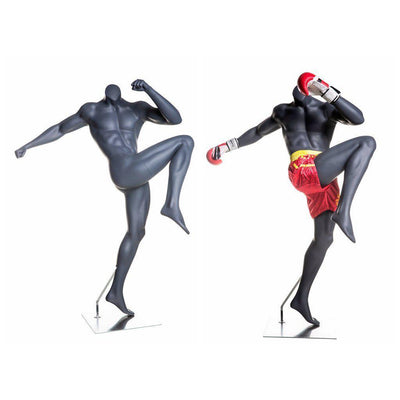 Mannequin Mall Male Athletic Boxing Mannequin MM-BOXING-3 For Fashion Stores and Retail Shops