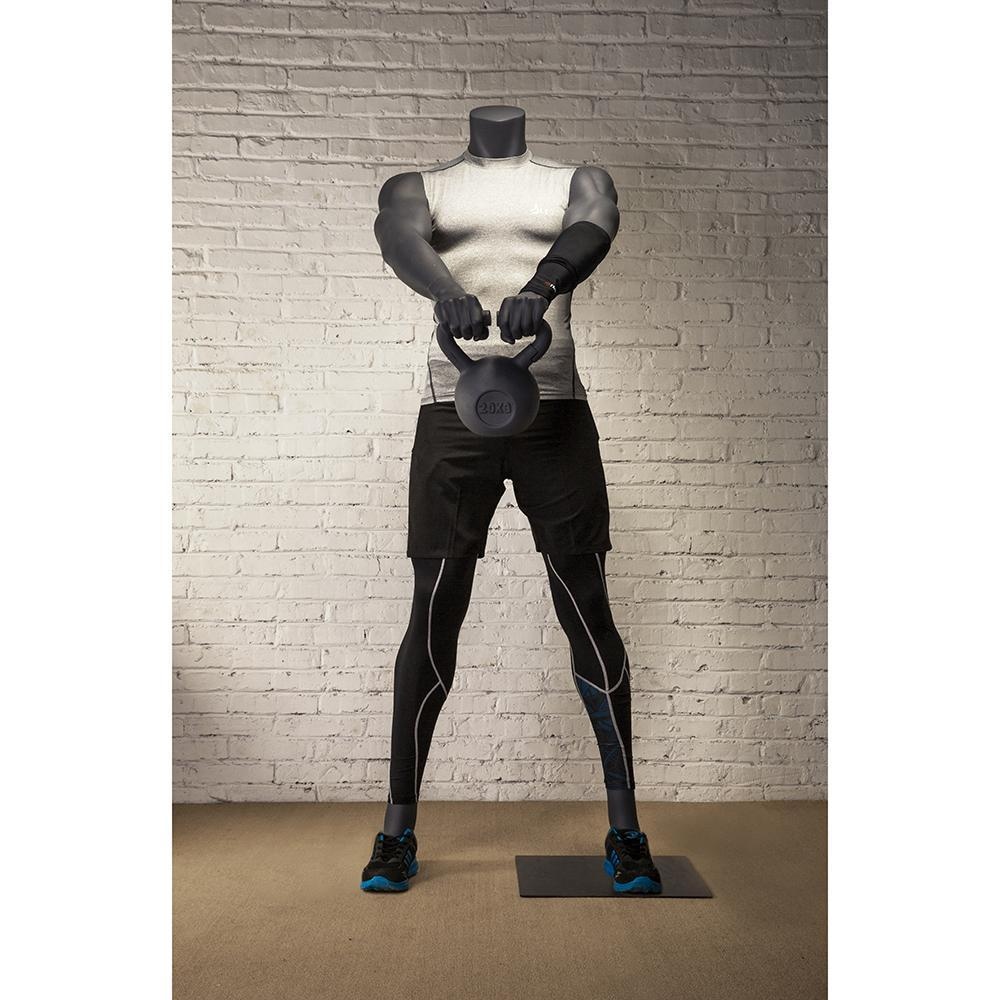 Mannequin Mall Male Athletic Kettlebell Weight Lifting Mannequin MM-HL-01 For Fashion Stores and Retail Shops