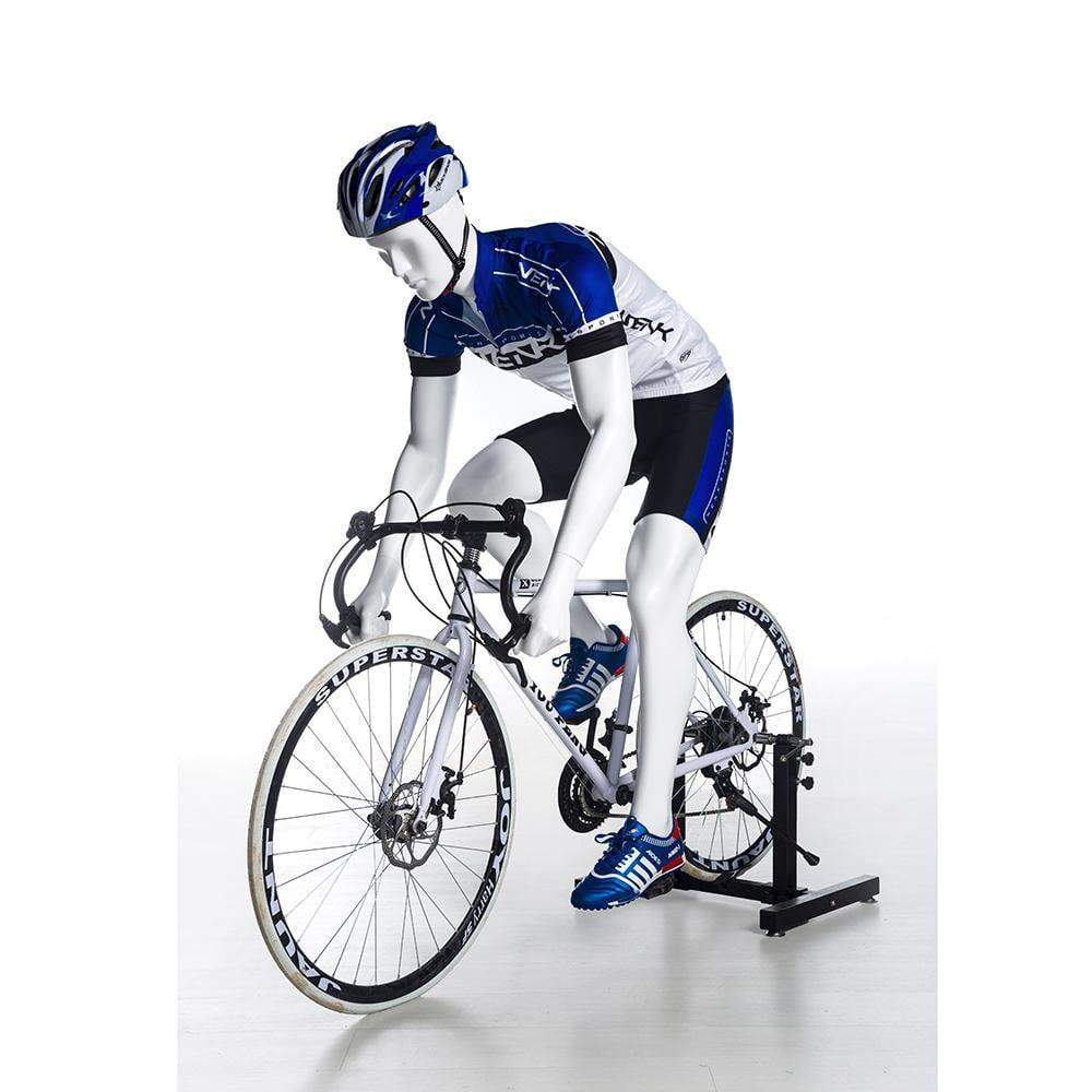 Mannequin Mall Male Cycling Abstract Mannequin MM-BY-M02 For Fashion Stores and Retail Shops