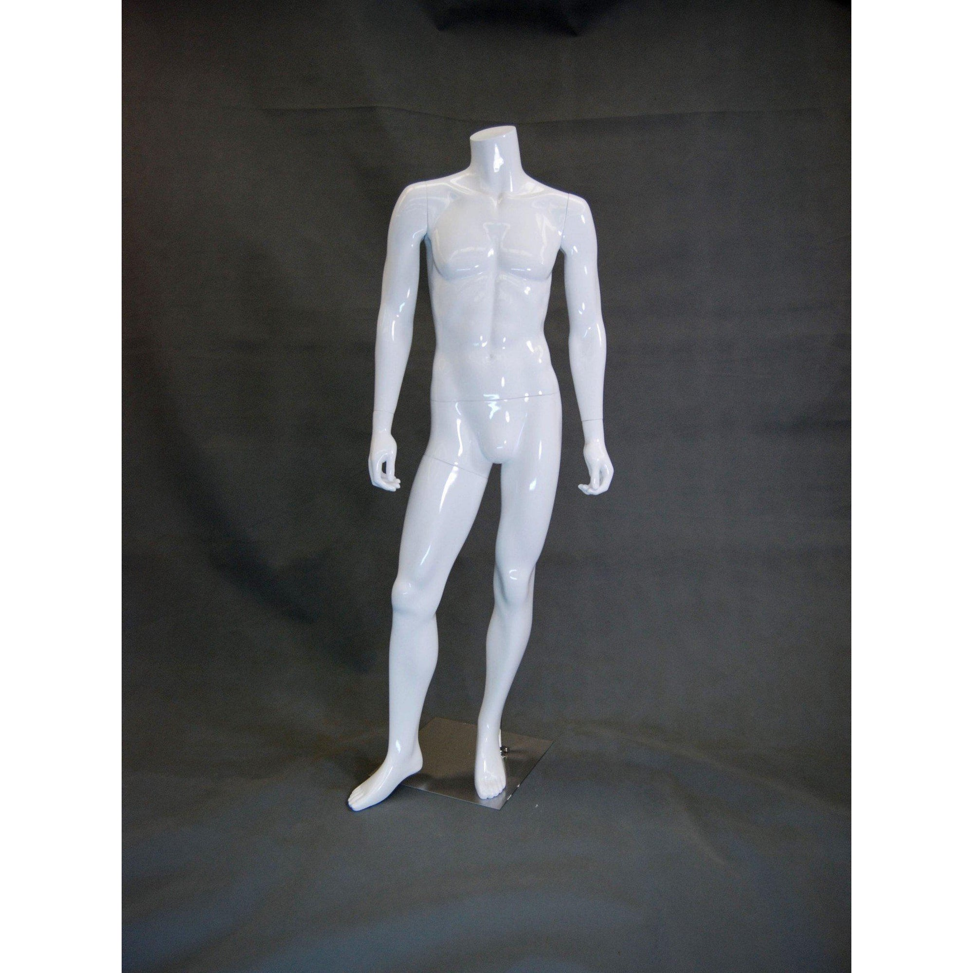 Mannequin Mall Male Headless Mannequin MM-MA2BW1 For Fashion Stores and Retail Shops