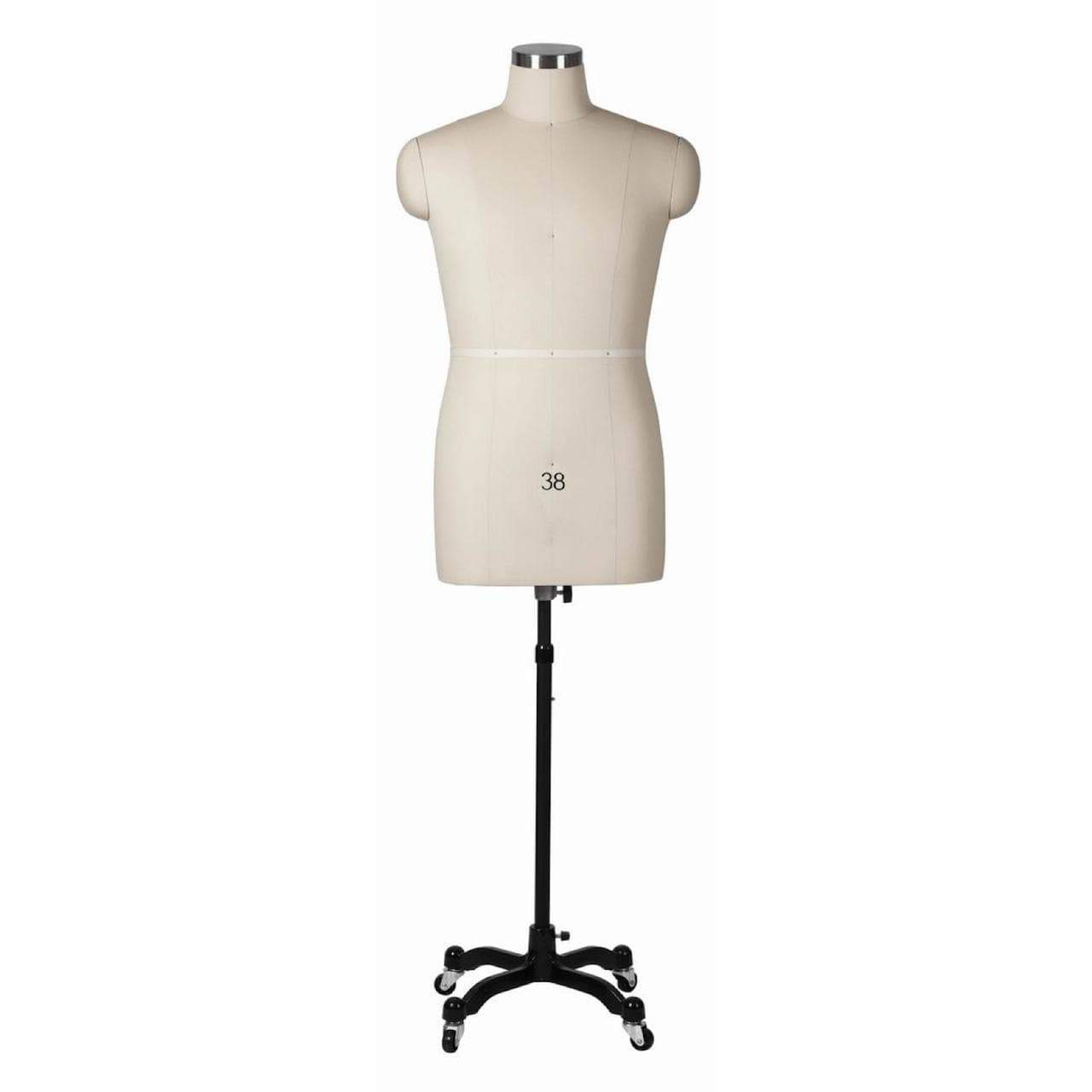 Mannequin Mall Male Professional Dress Form With Removable Shoulders - MM-MMT For Fashion Stores and Retail Shops