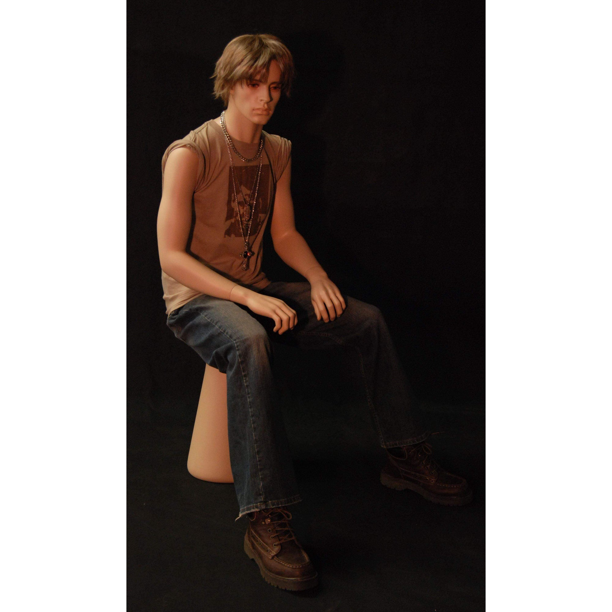 Mannequin Mall Male Realistic Mannequin MM-KW15F For Fashion Stores and Retail Shops
