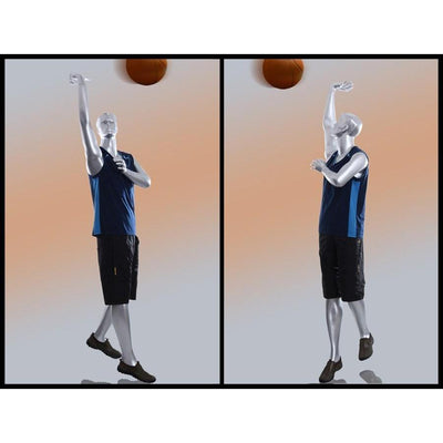 Mannequin Mall Male Sports Abstract Basketball Mannequin MM-Y3 For Fashion Stores and Retail Shops
