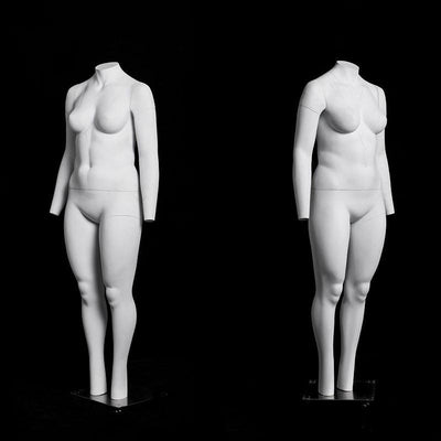 Mannequin Mall Plus Size Female Invisible Ghost Mannequin Full Body for Photography MM-MZGH10 For Fashion Stores and Retail Shops